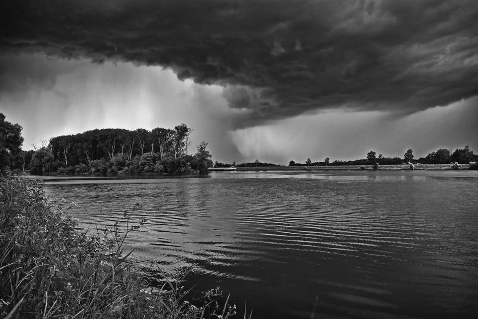 Gewitterstimmung mit Regen