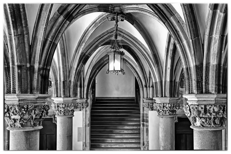 Architektur im Münchner Rathaus