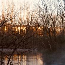 See im Sonnensufgang