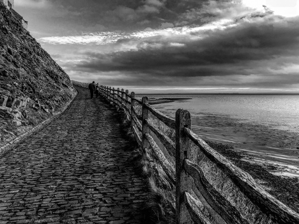 Path at the sea
