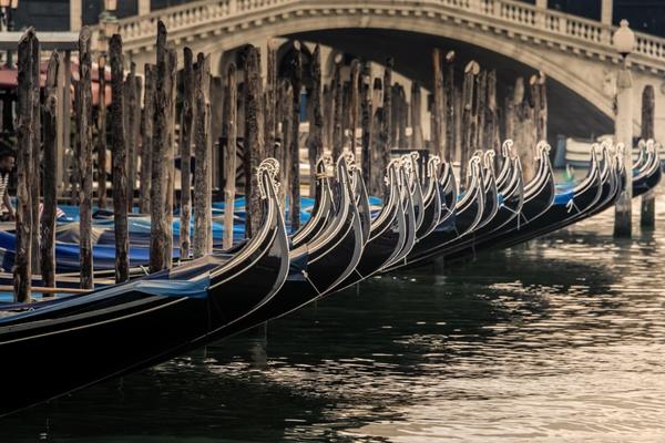 Venezianischer Taxistand