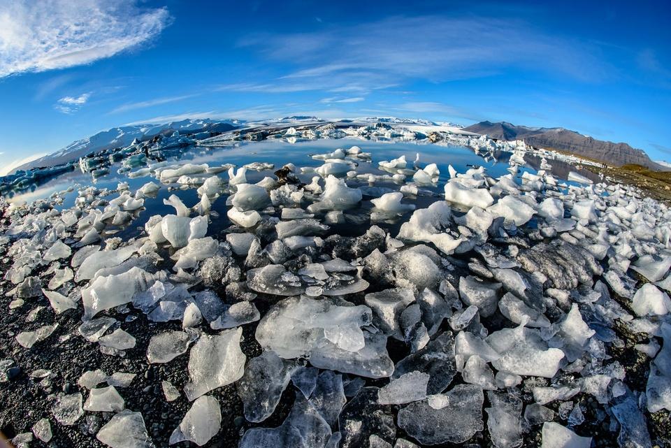 Jökulsarlon Gletscherlagune