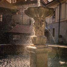 Brunnen Schloss Krumau