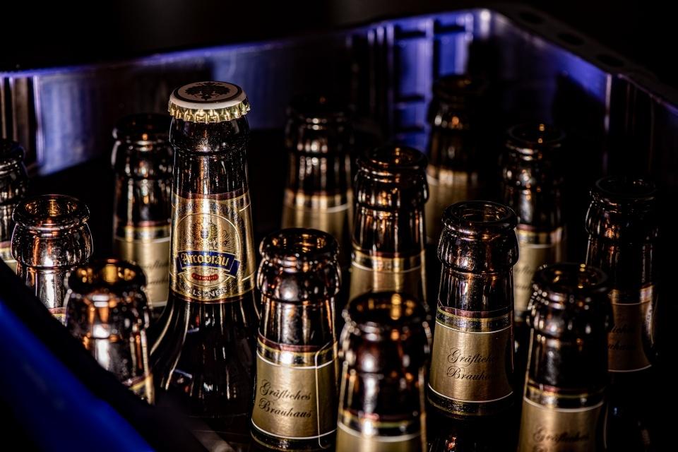 hervorragendes Bier