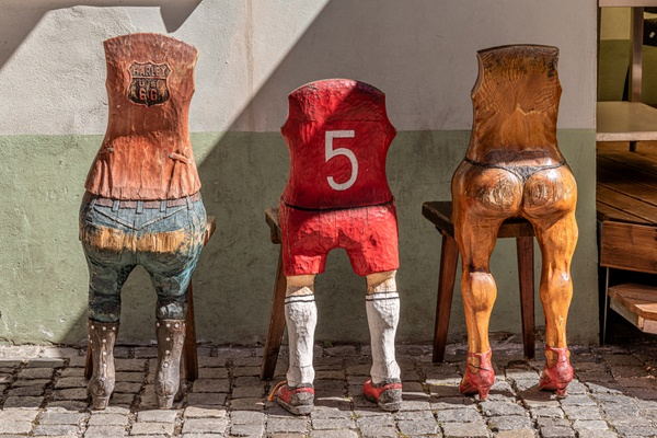 Holzstühle einmal anders