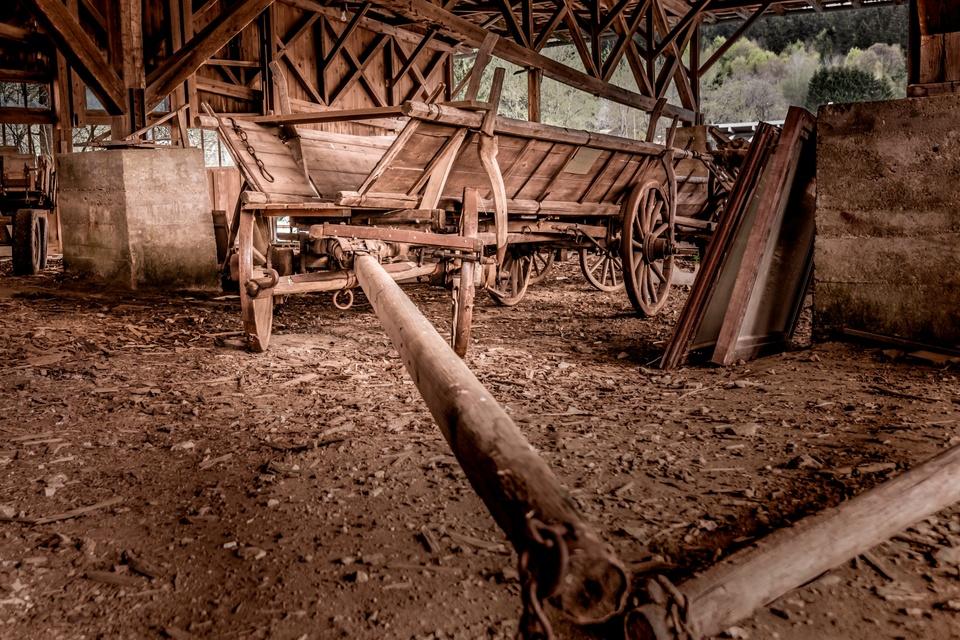 Holzfuhrwerk