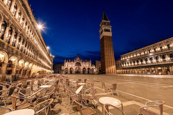 Platz frei in Venedig