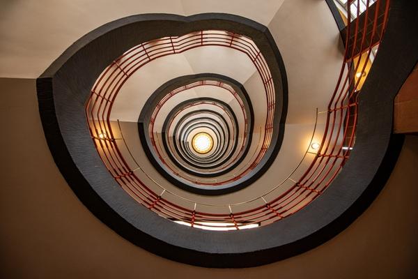 Treppe in Hamburg