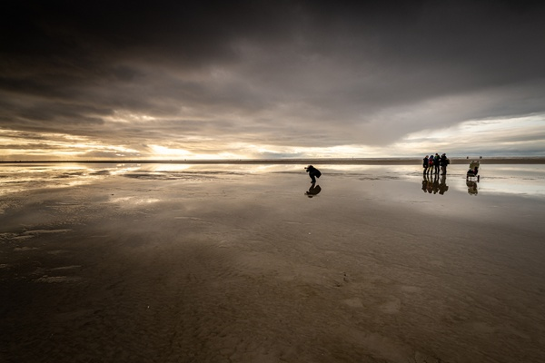 Fotografen am Strand