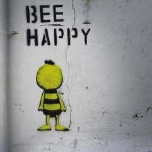 "Just ""Bee happy""!"