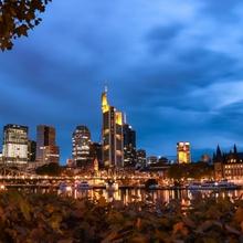 Blue Hour Frankfurt
