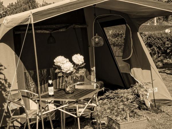 Garten Camping