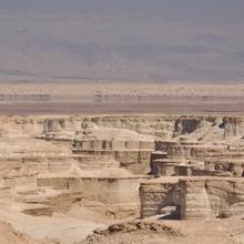 Tote Wüste am gleichnamigen Meer