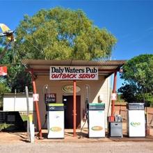 Eine Mini-Bar im Outback