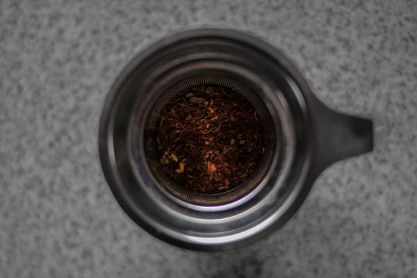Tee von oben