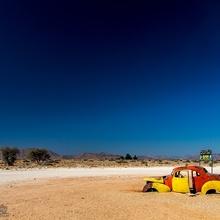 In the desert ...