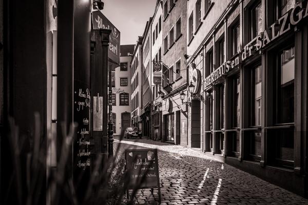 Verlassene Altstadt