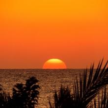 Sonnenaufgang in Ägypten