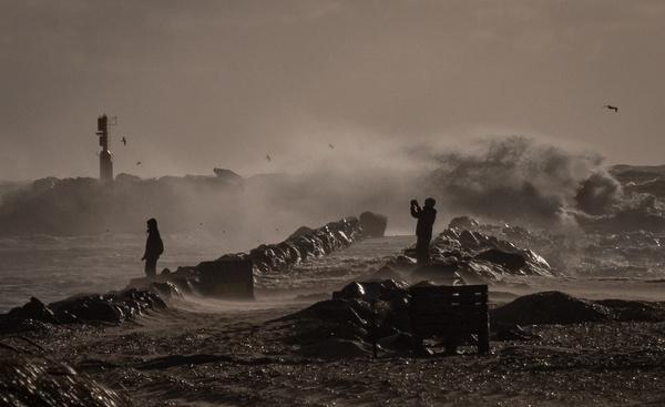 Sturmtief in Dänemark
