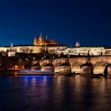 Karlsbrücke und Prager Schloss