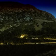 Serpentine bei Nacht