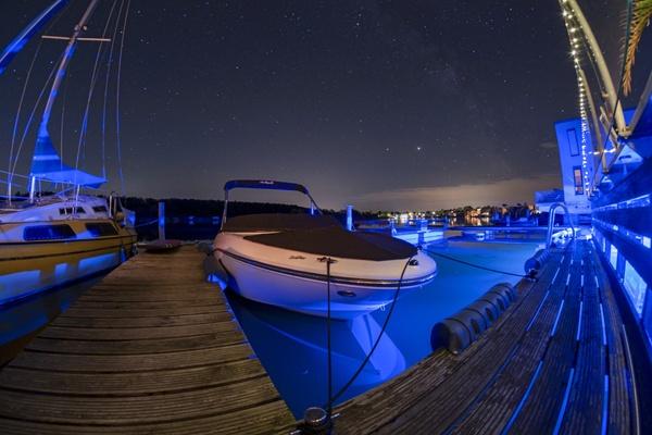 Sternenhimmel über dem Hainer See