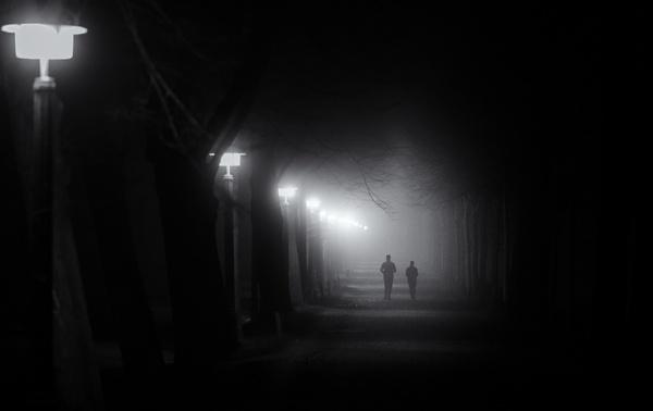 Lauf in die Dunkelheit