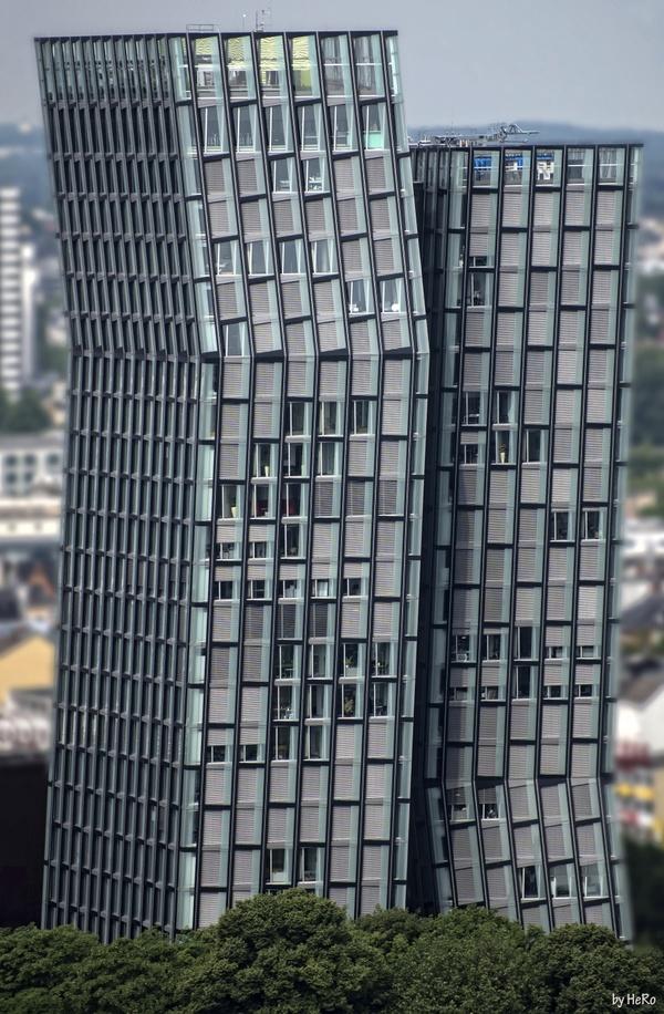 Die tanzenden Türme von Hamburg