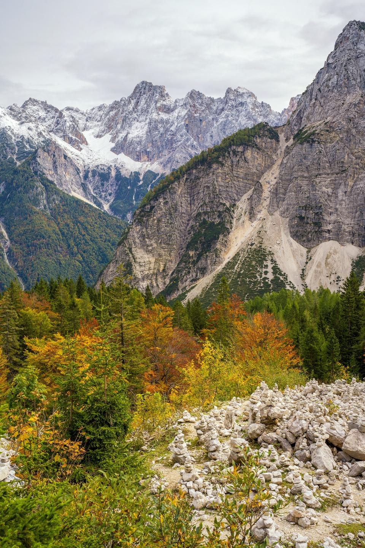 Herbst im Triglav Nationalpark