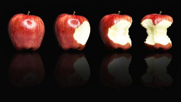 Apple, äh Äpfel...