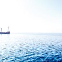 Schiff in der Adria