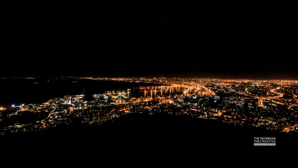 Kapstadt bei Nacht