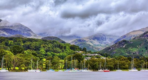 Berge in Coniston, Cumbria