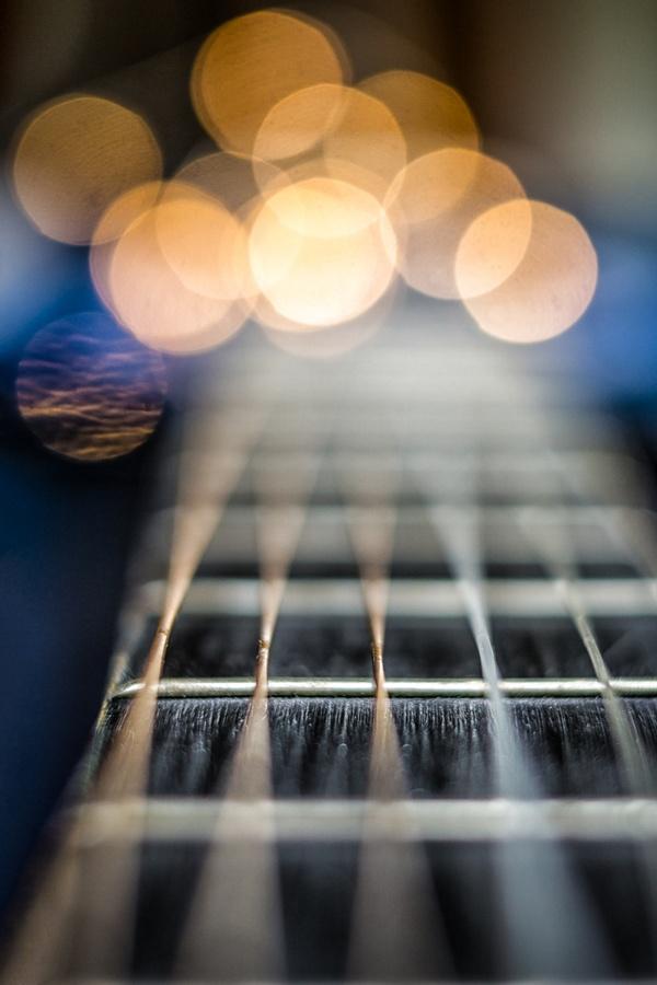 Gitarrendetail