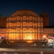 Alles nur Fassade - Palast der Winde - Jaipur